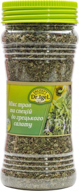 Микс трав и специй Dr.IgeL к греческому салату 90 г (4820155170870) - изображение 1