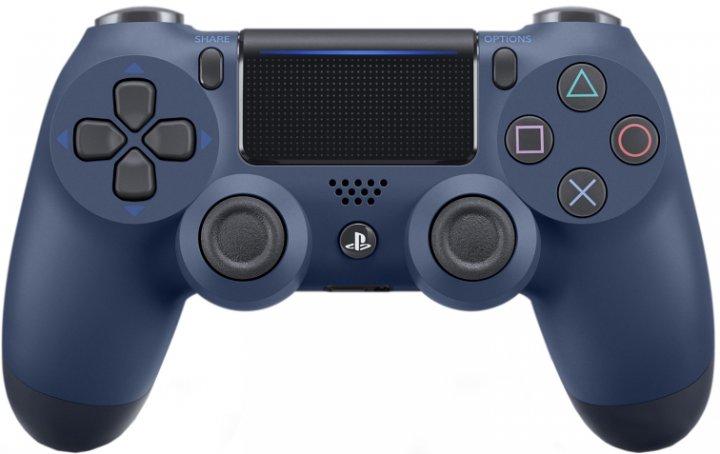 Беспроводной геймпад PlayStation Dualshock 4 v2 Midnigth Blue для PS4