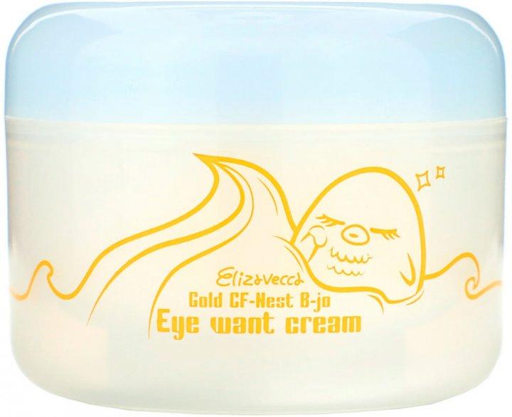 Крем для глаз с экстрактом ласточкиного гнезда Elizavecca Gold Cf-Nest B-Jo Eye Want Cream 100 мл (8809418750727) - изображение 1