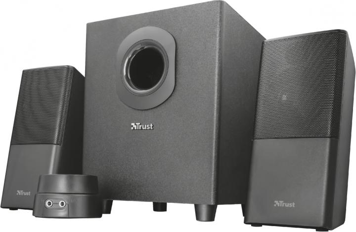 Акустическая система Trust Teros 2.1 Speaker Set Black (22363) - изображение 1