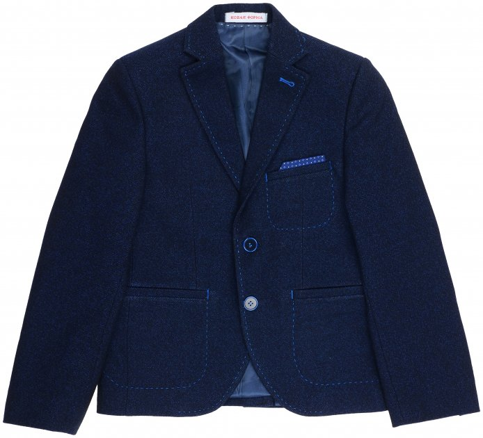 Пиджак Новая форма 181 Chris 156 см 38 р Темно-синий (2000067120602) - изображение 1