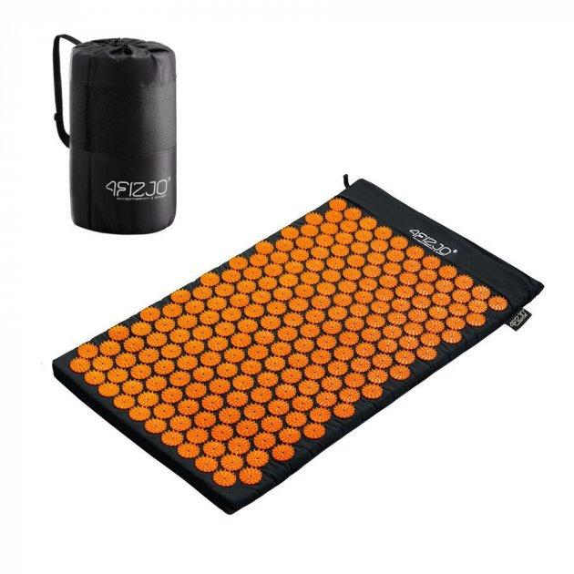 Коврик акупунктурный 4FIZJO Аппликатор Кузнецова 72 x 42 см 4FJ0041 Black-Orange (SKL41-227763) - изображение 1