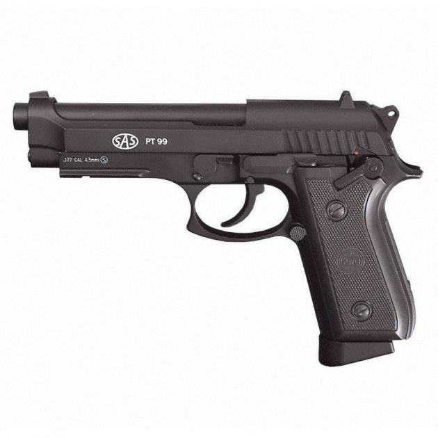Пневматический пистолет SAS PT99 Blowback - изображение 1