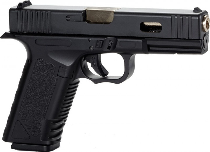 Пневматичний пістолет SAS G17 (Glock 17) Blowback - зображення 1