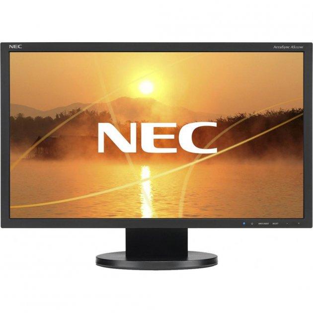 Монитор NEC AS222Wi black (60004375) (WY36dnd-214636) - изображение 1