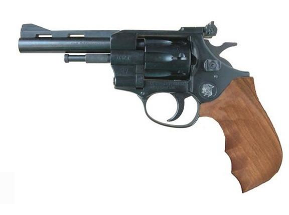 Револьвер под патрон Флобера Weihrauch Arminius (HW) 4 (рукоять дерево) - изображение 1