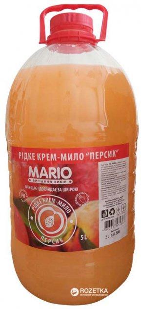 Крем-мыло Mario Маротех Персик 5 л (4823317435367) - изображение 1