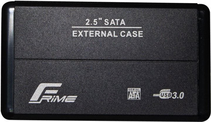 """Зовнішня кишеня Frime для HDD/SSD 2.5"""" SATA USB 3.0 Black (FHE20.25U30) - зображення 1"""