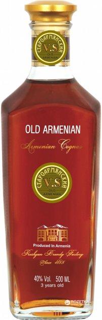 Бренди Old Armenian V.S 3* 0.5 л 40% (4850015312256) - изображение 1