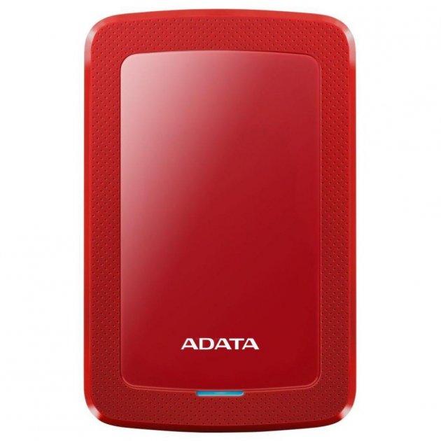 """Зовнішній жорсткий диск 2.5"""" 2TB ADATA (AHV300-2TU31-CRD) - зображення 1"""