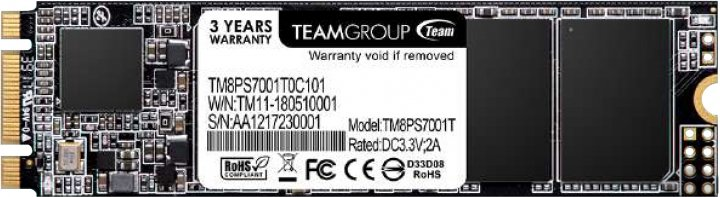 Team MS30 128GB M.2 2280 SATAIII TLC (TM8PS7128G0C101) - зображення 1