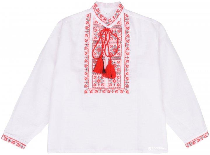 Вышиванка Lugin 8Д38 116 см Белая (2120053038169) - изображение 1