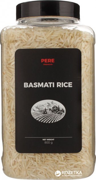 Рис Pere Басмати 800 г (4820191590472) - изображение 1