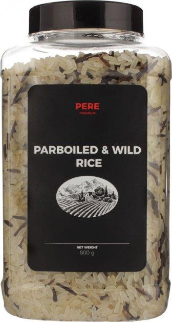 Смесь риса Pere пропаренного и дикого 800 г (4820191590533) - изображение 1