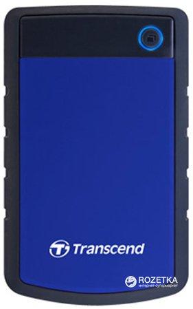 Жорсткий диск Transcend StoreJet 25H3P 4TB 5400rpm 8MB TS4TSJ25H3B 2.5 USB 3.1 External Blue - зображення 1