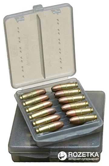 Кейс МТМ Ammo Wallet для пистолетных патронов 9 мм, 380 ACP на 18 патр. Дымчатый (17730850) - изображение 1