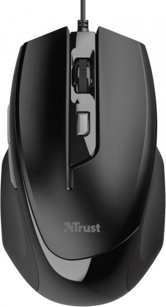 Мышь Trust Voca Comfortable USB Black (TR23650) - изображение 1
