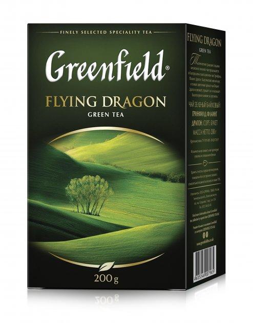 Зеленый чай Greenfield Flying Dragon 200 г (4823096801131) - изображение 1