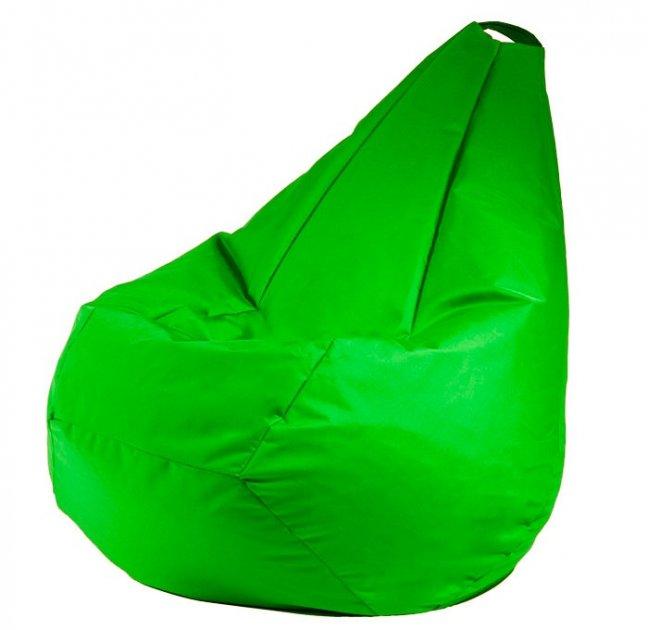 Крісло мішок груша 120х85см Зелений - зображення 1