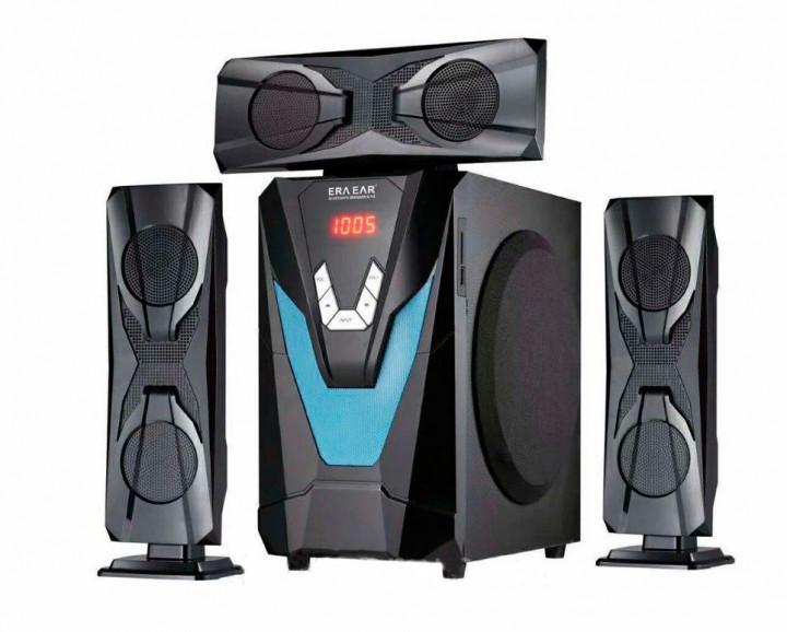Акустическая система с сабвуфером 3.1 ERA E-Y3L 60W (Bluetooth, FM-радио, USB flash, SD card) - изображение 1