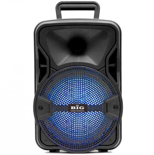 Автономная активная акустическая система BIG 804GALAXY BT+ Шнуровой микрофон караоке - изображение 1