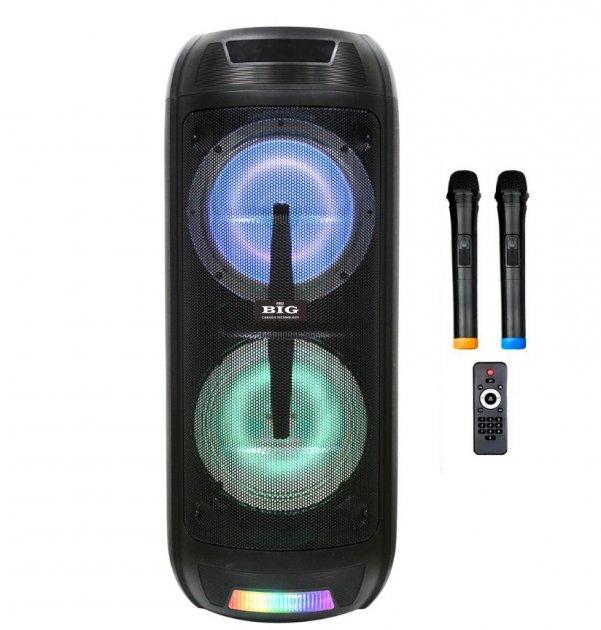 Автономная активная акустическая система BIG 150ELYSIUM два радио микрофона, караоке - изображение 1