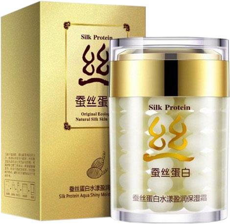 Крем для лица Bioaqua Silk Protein 60 г (6947790783987) - изображение 1