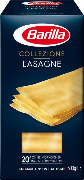 Макарони Barilla Collezione Lasagne Лазанья 500 г (8067809523738) - зображення 1