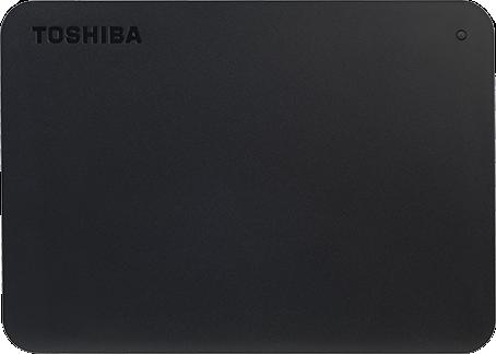 "Жесткий диск Toshiba Canvio Basics 2TB HDTB420EK3AA 2.5"" USB 3.0 External Black - изображение 1"