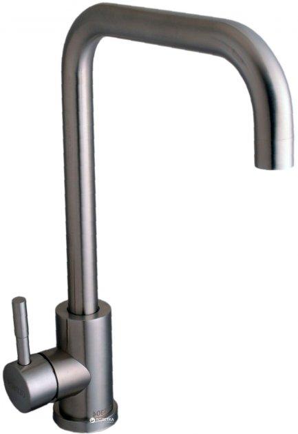 Змішувач кухонний GLOBUS LUX SUS-203L неіржавка сталь - зображення 1