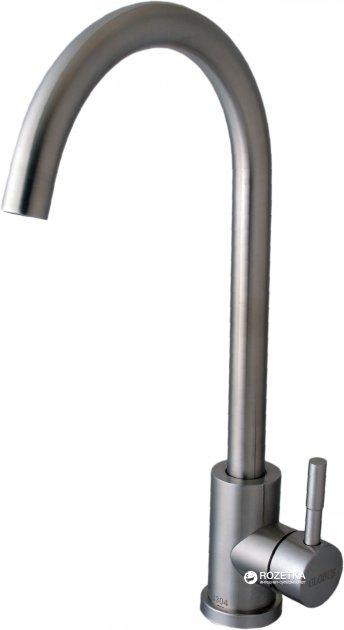 Змішувач кухонний GLOBUS LUX SUS-203S неіржавка сталь - зображення 1