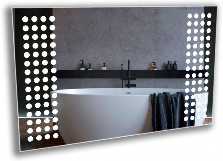 Зеркало в ванную с LED-подсветкой StudioGlass 6-8 80x50 см - изображение 1