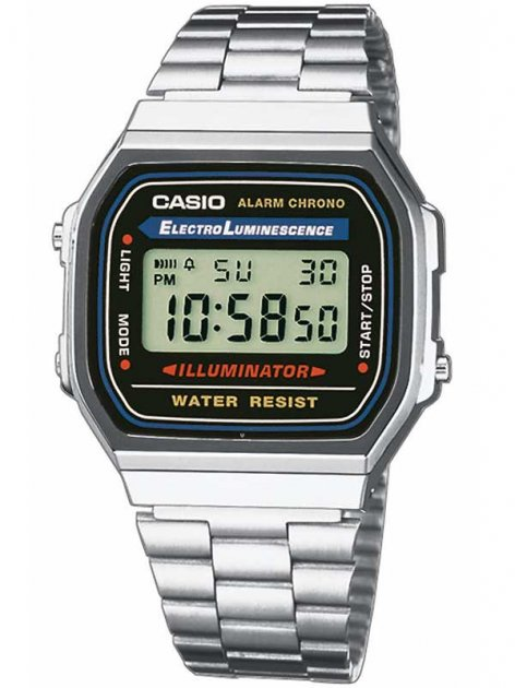 Часы CASIO A168WA-1YES Collection 35mm 3ATM - изображение 1