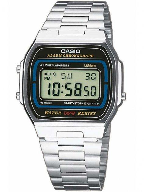 Часы CASIO A164WA-1VES Collection 35mm 3ATM - изображение 1