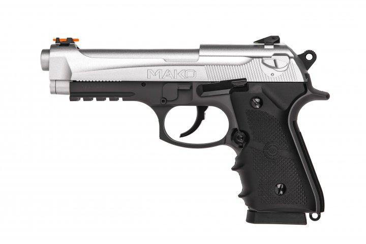Пистолет пневматический Crosman Mako CO2 кал.4,5 мм Crosman - зображення 1