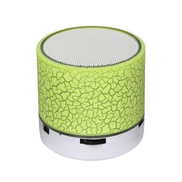 Портативная Bluetooth колонка с подсветкой SPS B1 BT Green (1001 006563) - изображение 1