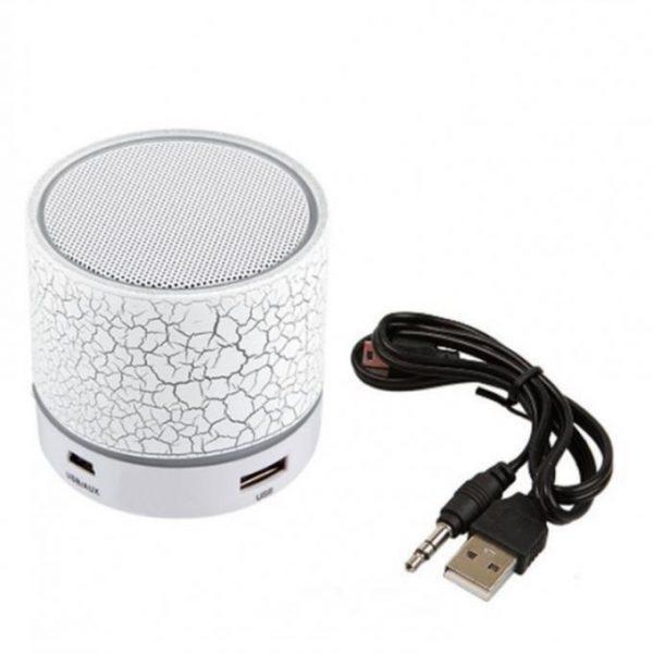 Портативная Bluetooth колонка с подсветкой SPS B1 BT White (1001 006564) - изображение 1