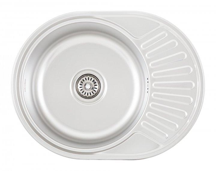 Кухонна мийка INTERLINE Eva мікродекор - зображення 1