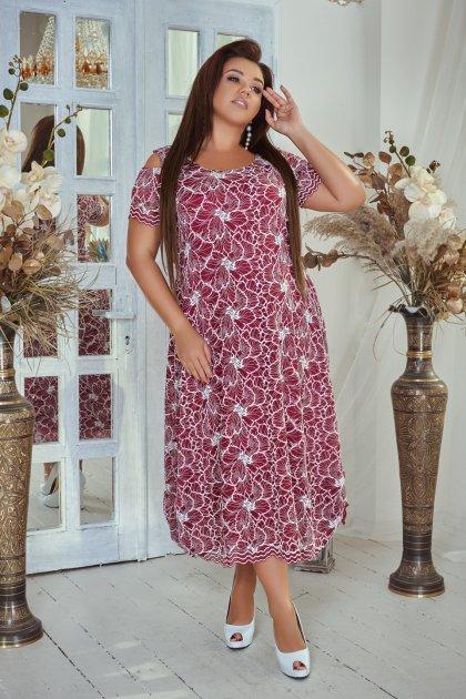 Платье ALDEM 1741 52 Бордовое (2000000366135) - изображение 1