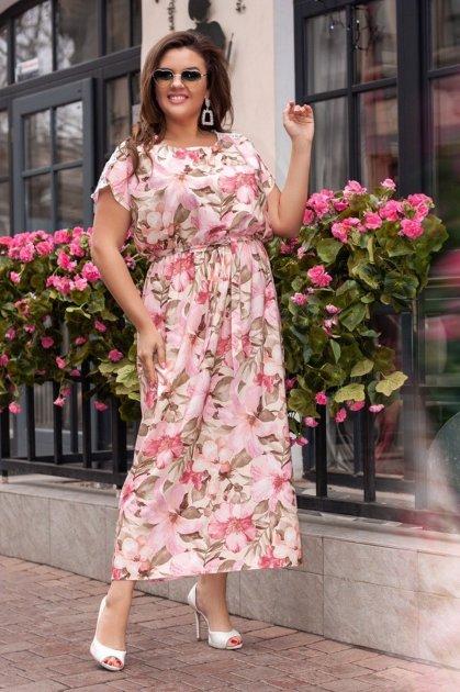 Платье ALDEM 1824 52 Пудровое (2000000365923) - изображение 1
