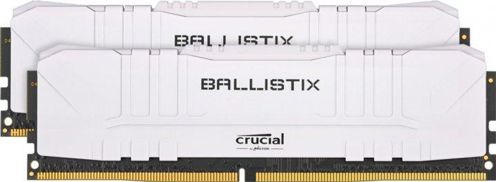 Оперативна пам'ять Crucial DDR4-3600 16384 MB PC4-28800 (Kit of 2x8192) Ballistix White (BL2K8G36C16U4W) - зображення 1