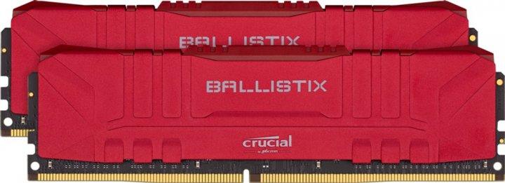 Оперативная память Crucial DDR4-3600 16384MB PC4-28800 (Kit of 2x8192) Ballistix Red (BL2K8G36C16U4R) - изображение 1