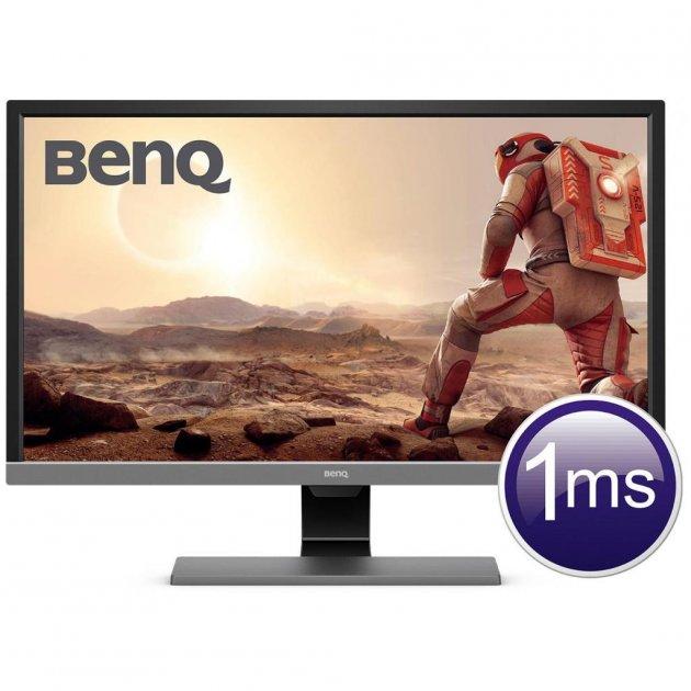 Монітор BENQ EL2870U Metallic Grey - зображення 1