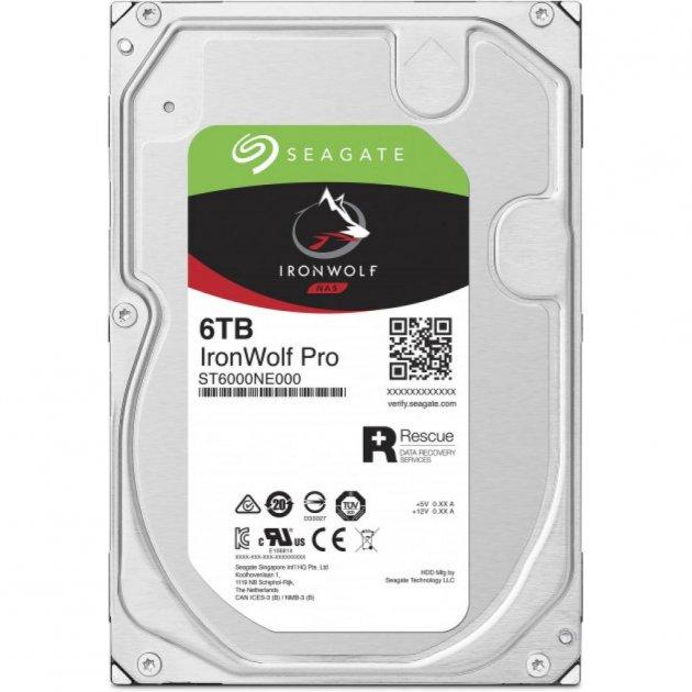 """Жорстку диск 3.5"""" 6TB Seagate (ST6000NE000) - зображення 1"""