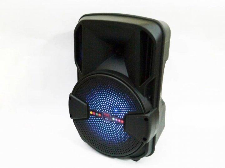 """Беспроводная портативная bluetooth колонка - чемодан с караоке ALP-801 8"""" - зображення 1"""