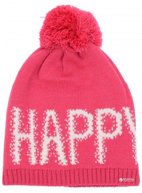 Зимняя шапка Lenne Rica 18391/261 52 см Малиновая (4741578208646) - изображение 1