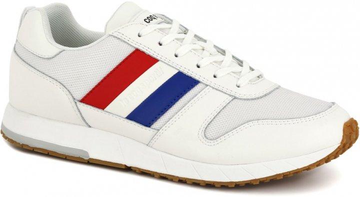 Кроссовки Le Coq Sportif Jazy Classic Flag 2010151-LCS 44 28 см Белые (3606803984362) - изображение 1
