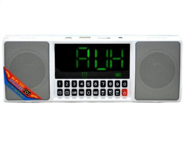 Портативная Bluetooth стерео колонка WSTER WS-1515 BT Серая (3163) - зображення 1