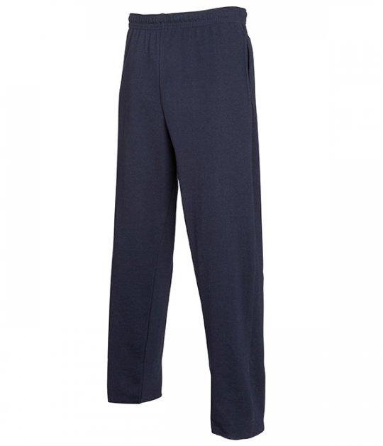 Спортивные брюки Fruit of the Loom Lightweight open hem jog pants S AZ Глубокий Темно-Синий (0640380AZS) - изображение 1