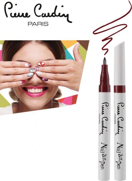 Олівець для нігтів Pierre Cardin Nail Art Pen Марсала 3 мл (8680570442312) - зображення 1